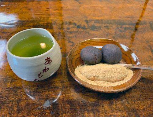 粟餅所・澤屋さんは「あんこ」と「きな粉」の出来立ての粟餅を食べられます